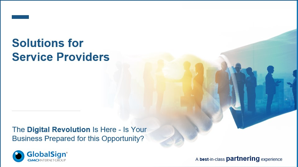 Solutions for Service Providers